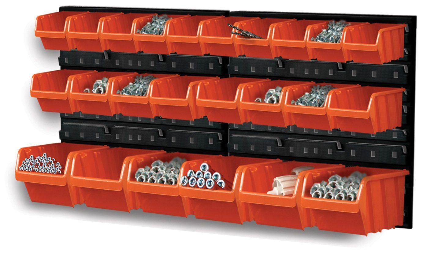 Závěsný organizér/držák s 24 boxy NTBNP2 ORDERLINE Prosperplast