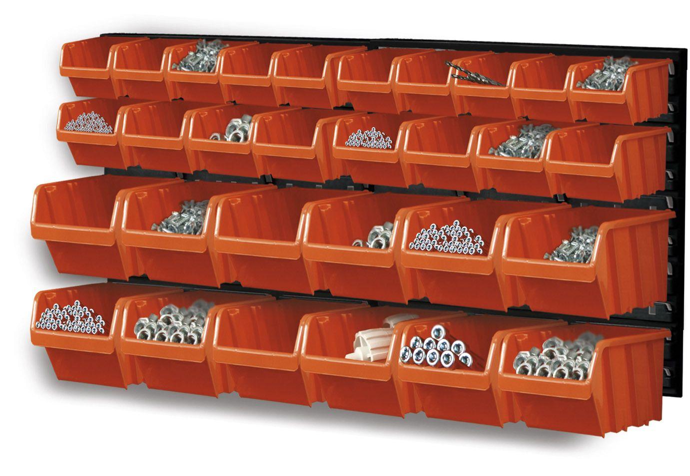 Závěsný organizér/držák s 30 boxy NTBNP3 ORDERLINE Prosperplast