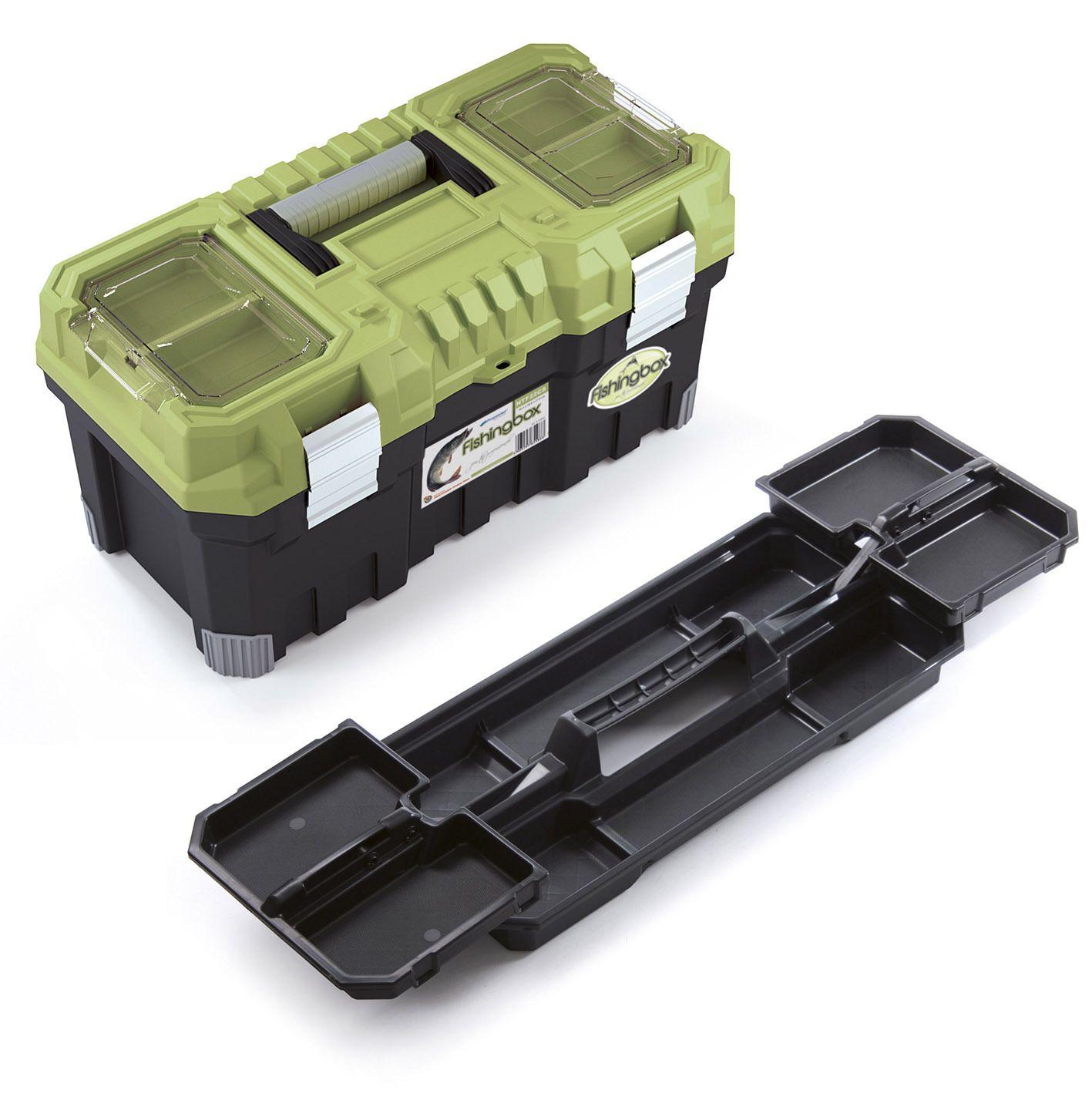 """Plastový kufr, rybářský box 22"""", nosnost 15 kg, FISHINGBOX PROSPERPLAST"""