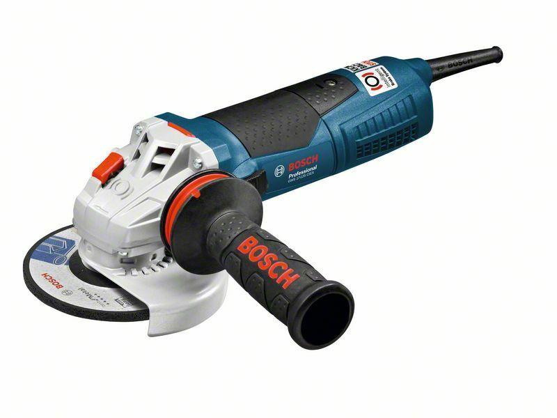 Malá úhlová bruska Bosch GWS 17-125 CIEX Professional, 1.700 W, 060179H106