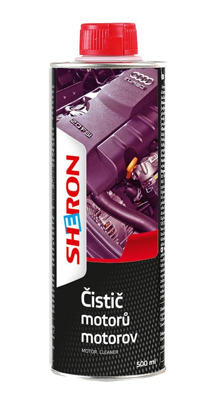 SHERON Čistič motorů 500 ml