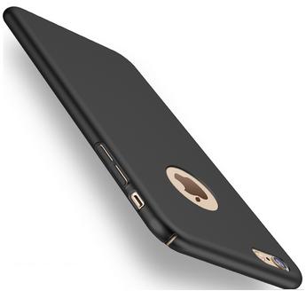 Silikonový kryt pro Apple iPhone 7 plus, černý SIXTOL