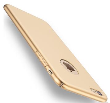 Plastový kryt pro Apple iPhone 7, zlatý SIXTOL