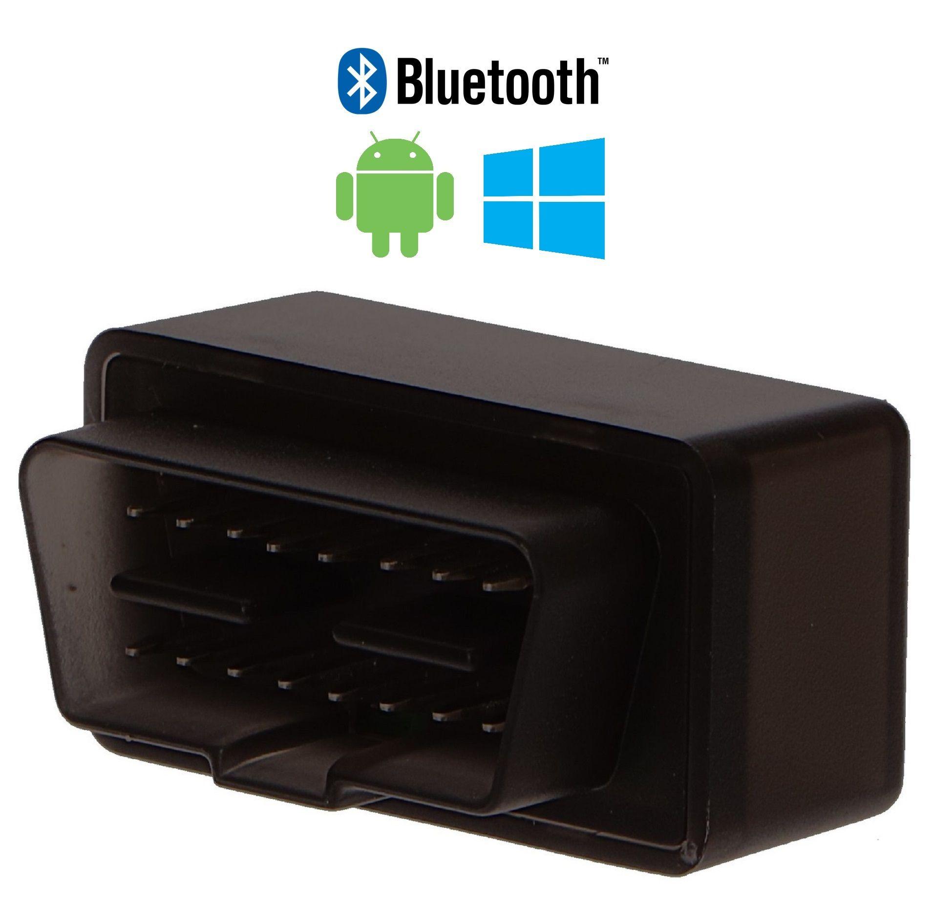Autodiagnostika SX1 bluetooth černá, Android (zdarma SX OBD aplikace) SIXTOL