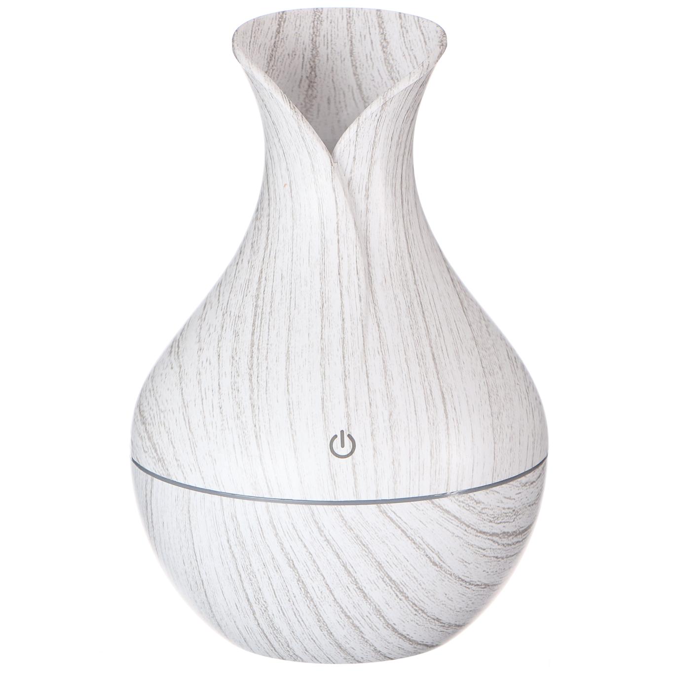 Aroma difuzer Flower bílé dřevo 130ml SIXTOL