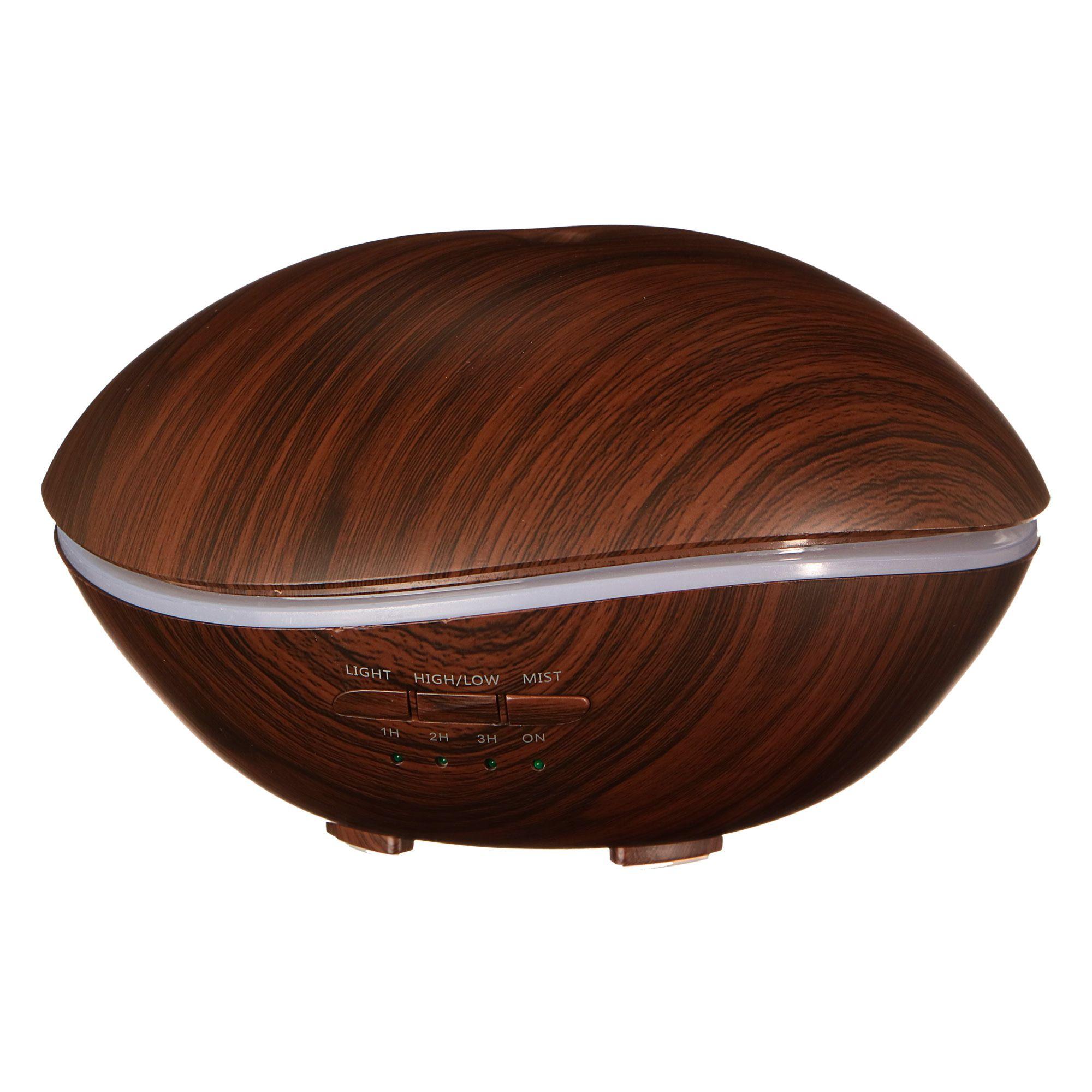 Aroma difuzer Stone tmavé dřevo 500ml SIXTOL