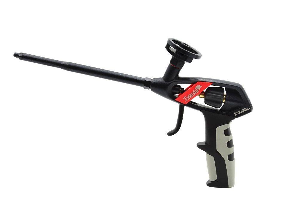 Pistole na PU pěnu, s regulací průtoku GEKO