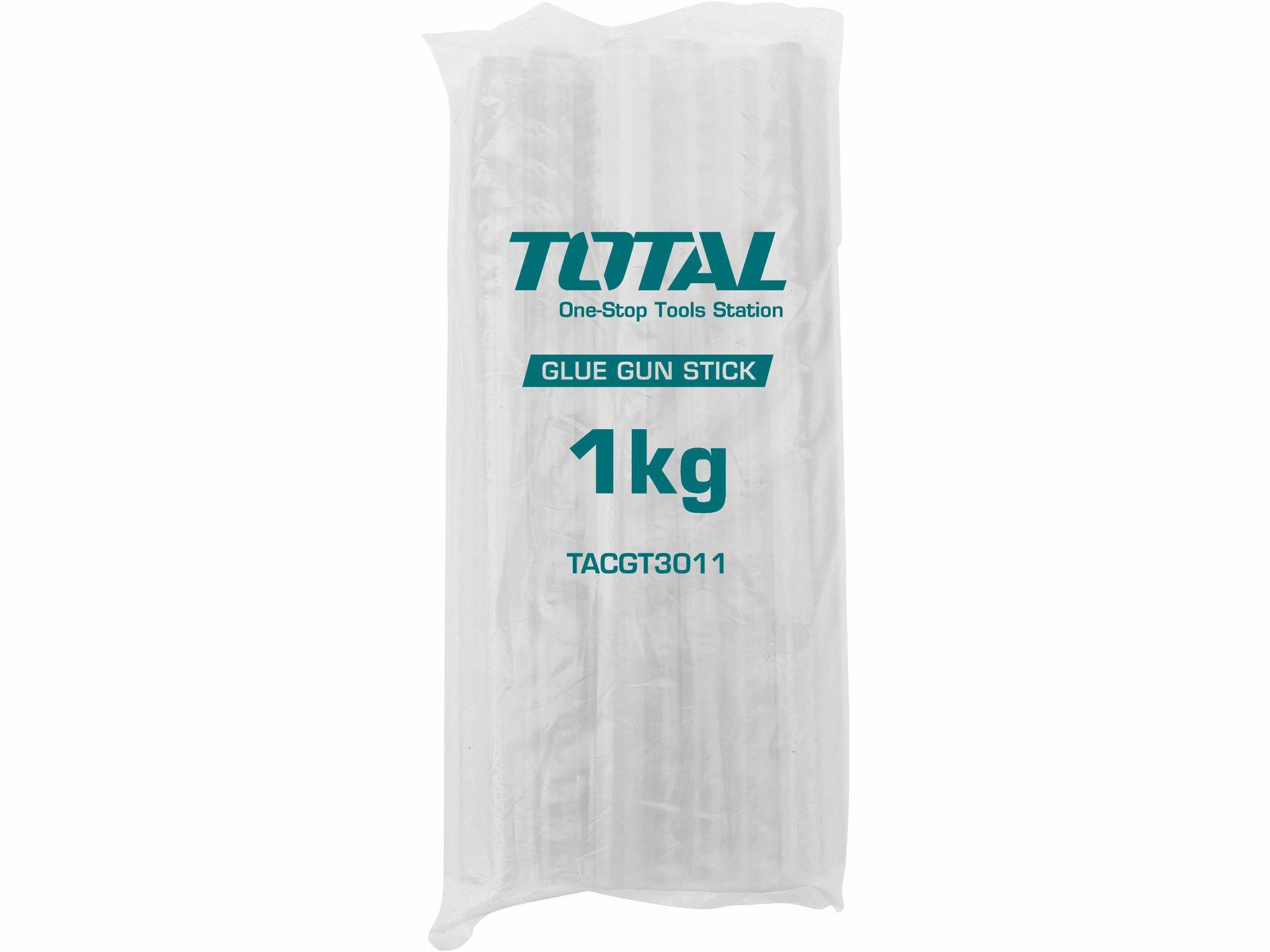 Tyčinky tavné transparentní, 1kg TOTAL-TOOLS