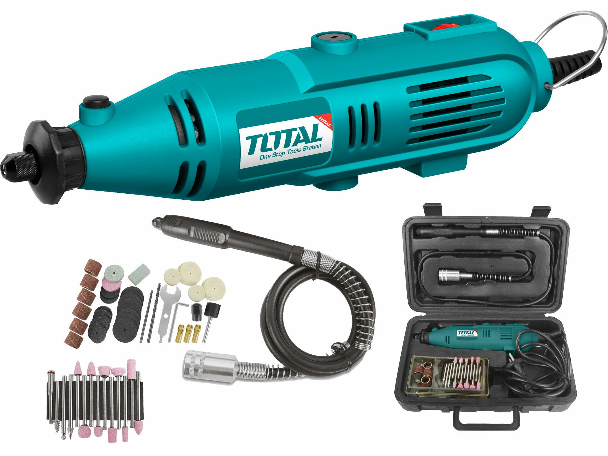 Bruska přímá, 130W TOTAL-TOOLS