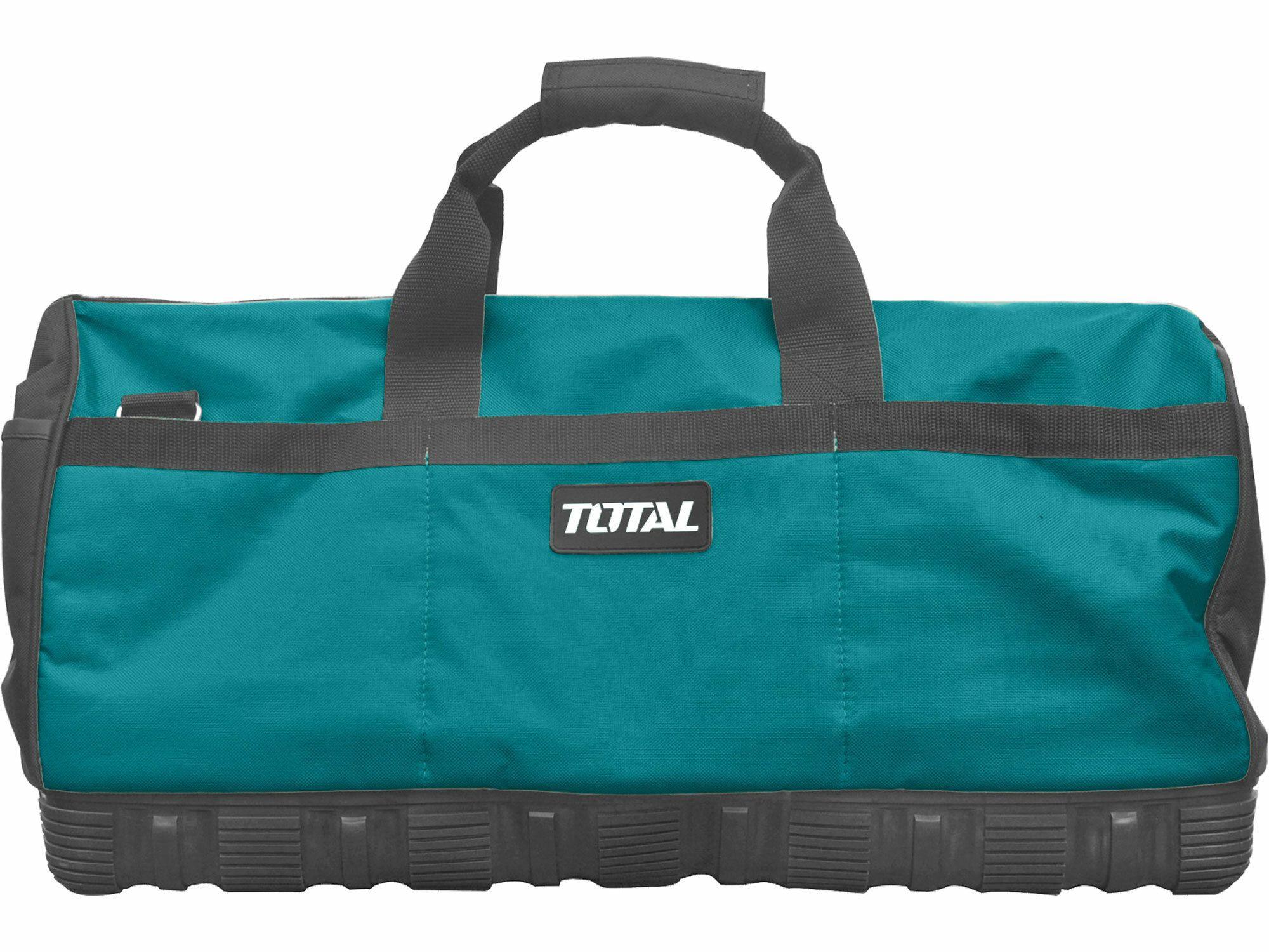 Taška na nářadí, 61cm, plastové dno, industrial TOTAL-TOOLS