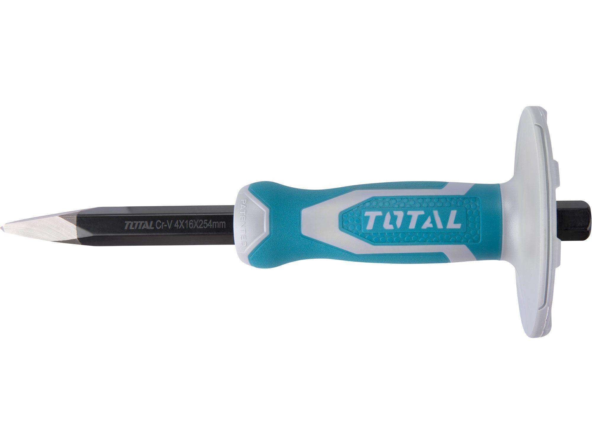 Sekáč špičatý s plastovým chráničem, industrial TOTAL-TOOLS