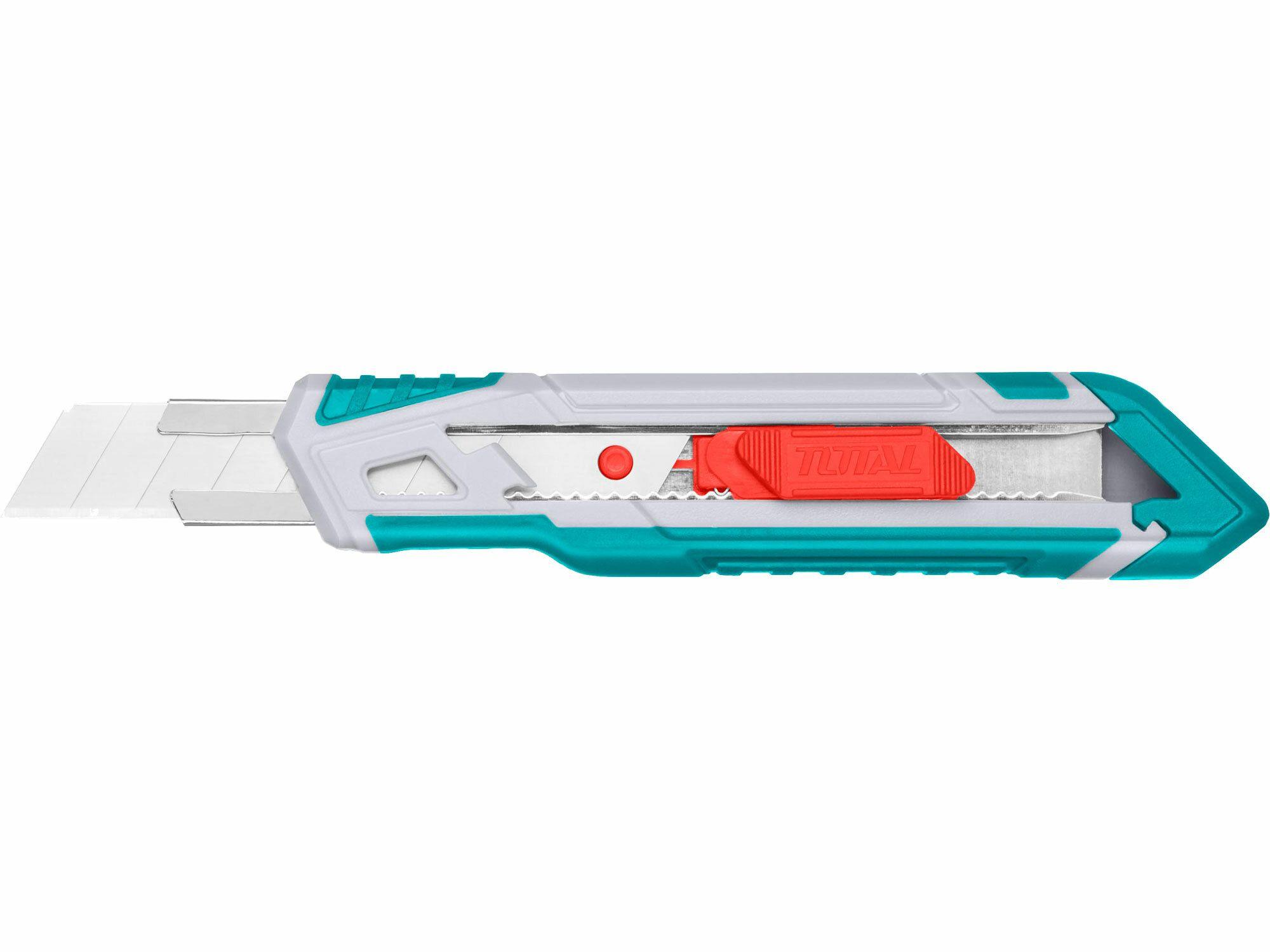 Nůž ulamovací s kovovou výztuhou, 18mm TOTAL