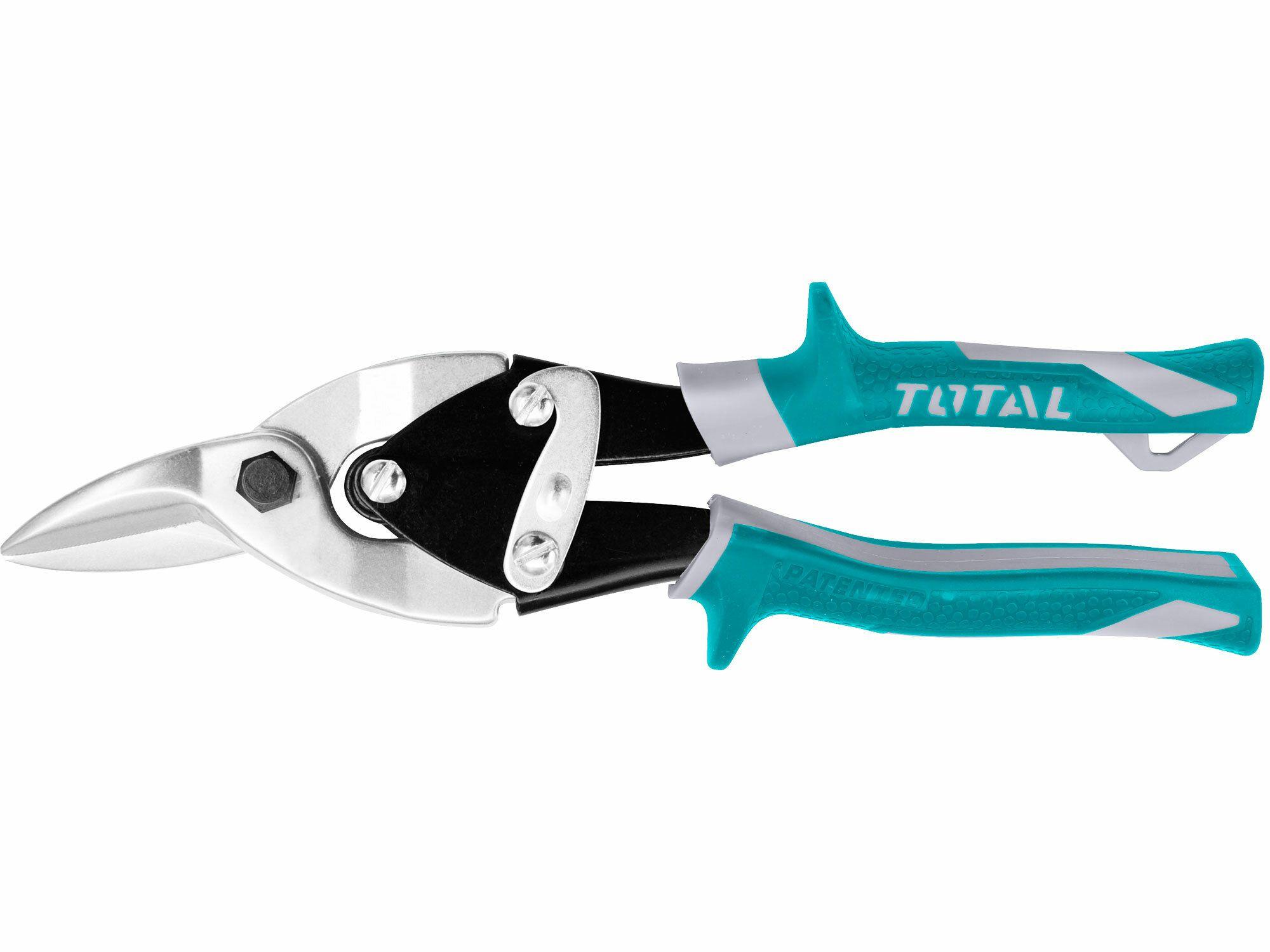 Nůžky na plech převodové, 250mm, rovné a doprava TOTAL-TOOLS