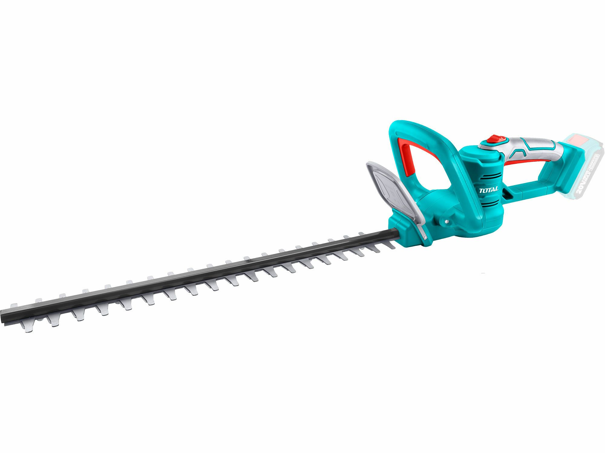 Nůžky na živé ploty AKU, 20V Li-ion, 2000mAh, industrial - bez baterie a nabíječky TOTAL-TOOLS