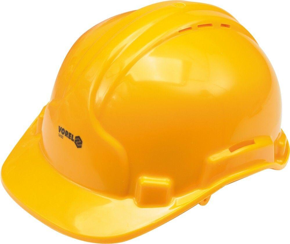 Ochranná přilba žlutá VOREL