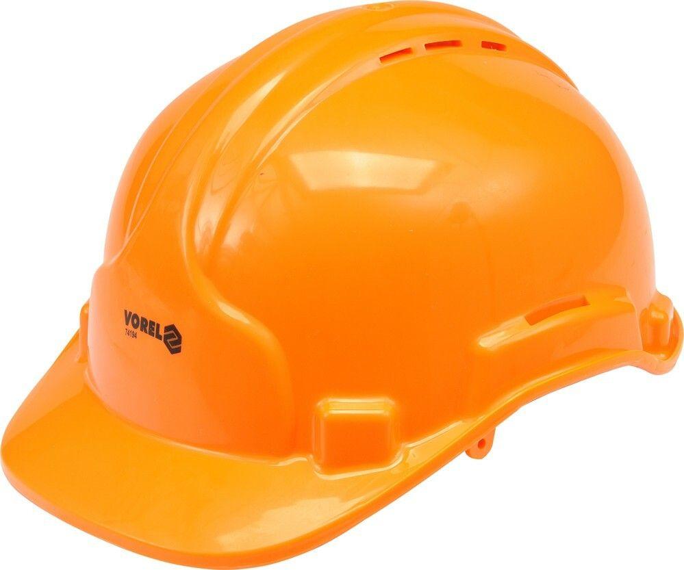 Ochranná přilba oranžová VOREL