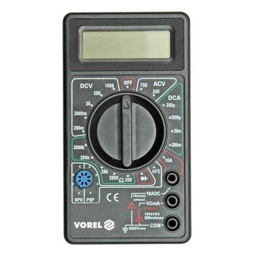 Multimetr digitální Vorel 81780 TOYA