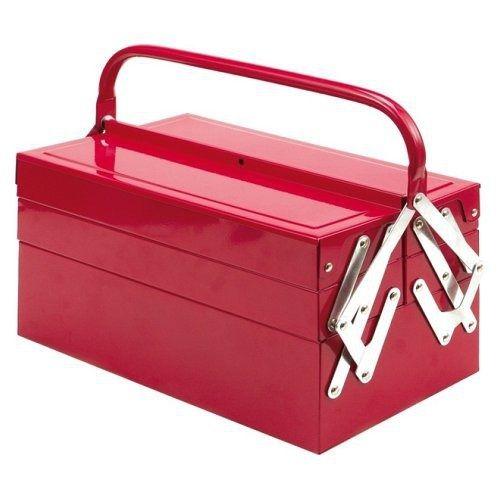 Box na nářadí, 40 x 21 x 19 cm, kov, 5 oddělení, TOYA VOREL