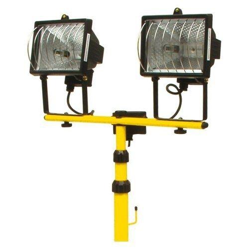 Lampa halogenová na stojanu, 2 x, 500W, TOYA