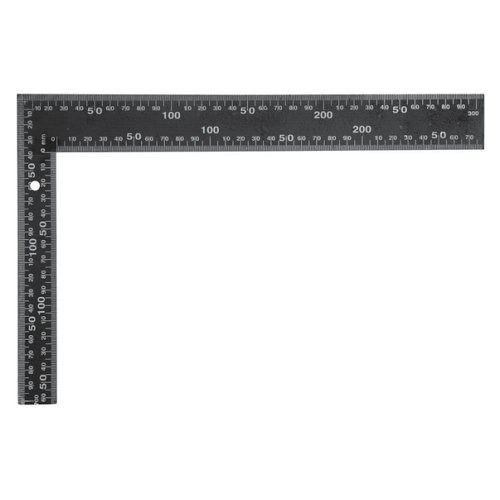 Úhelník truhlářský 300 x 200 mm černý TOYA