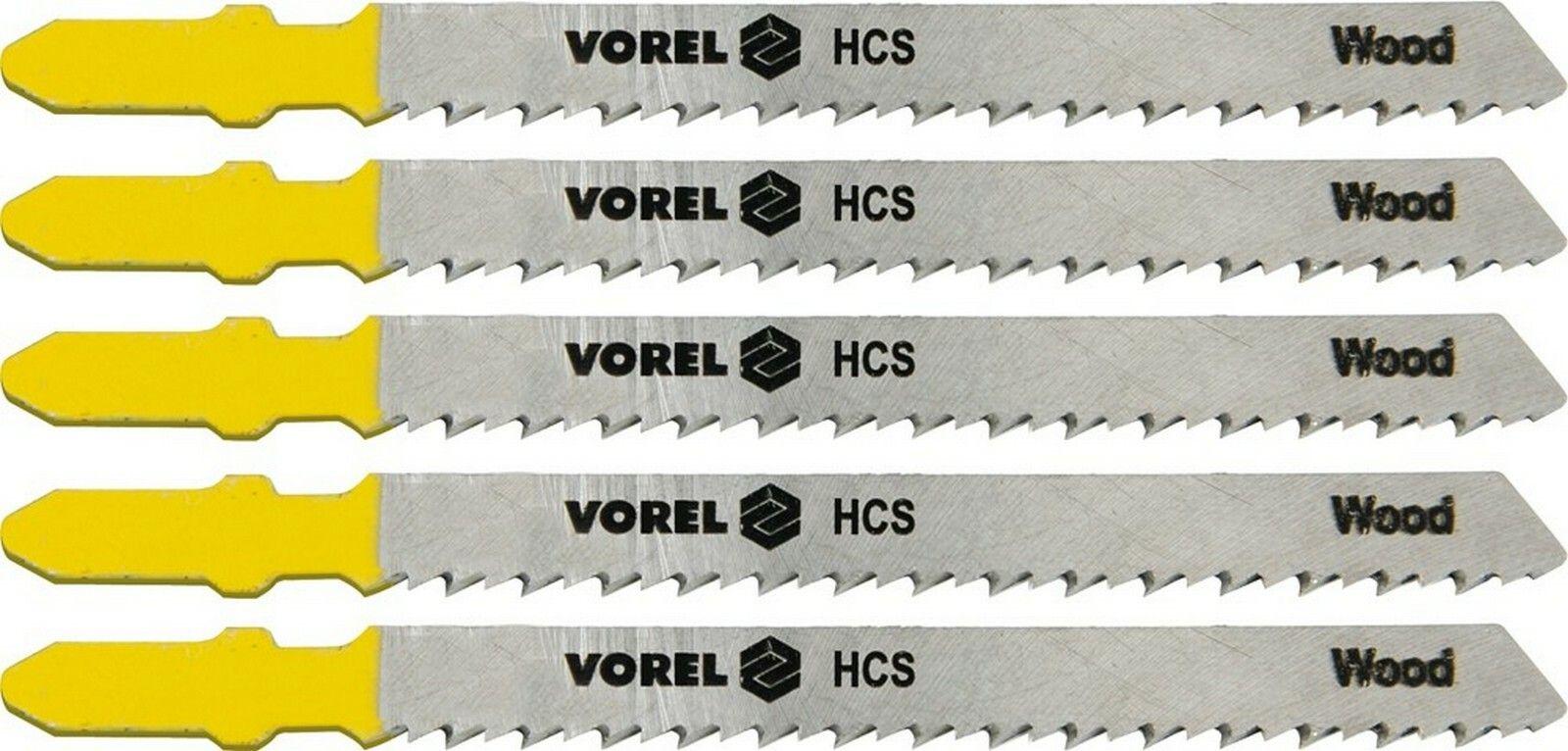 List do přímočaré pily 100 mm na dřevo TPI10 5 ks TOYA