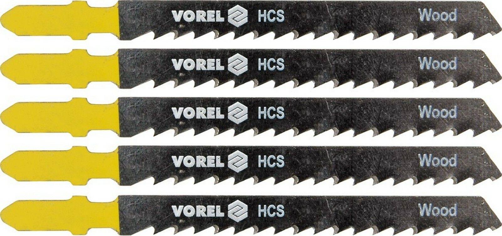 List do přímočaré pily 100 mm na dřevo, plast a kov TPI8 5 ks TOYA