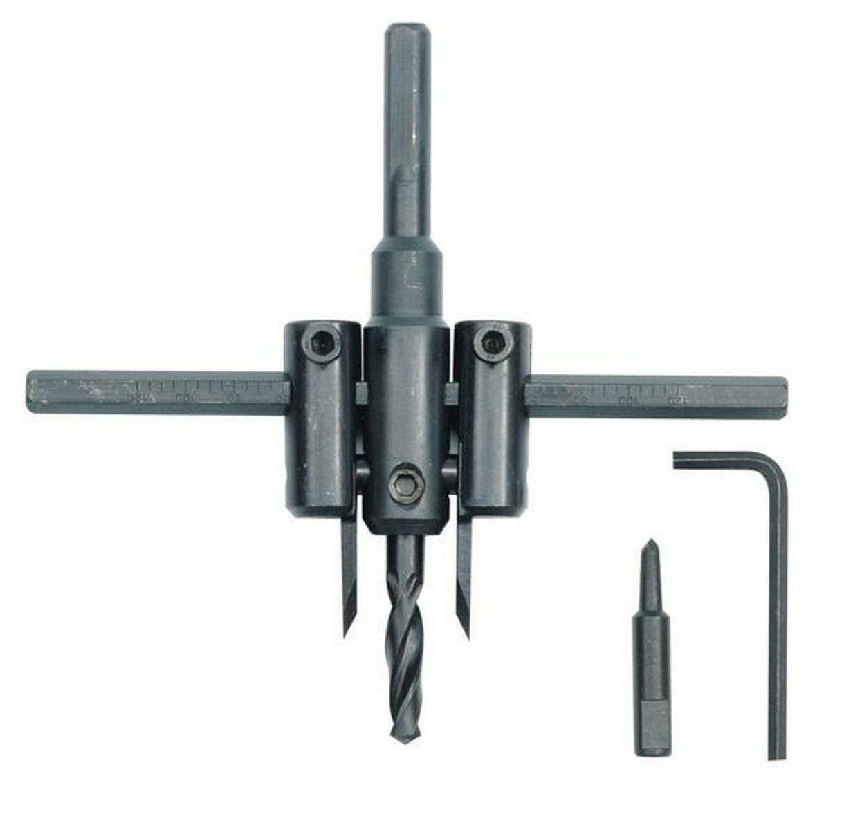Výkružník do PVC 30 - 120 mm TOYA