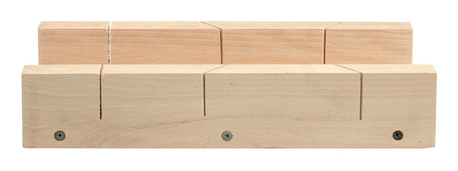 Přípravek na řezání úhlů 300 x 80 mm dřevěný TOYA