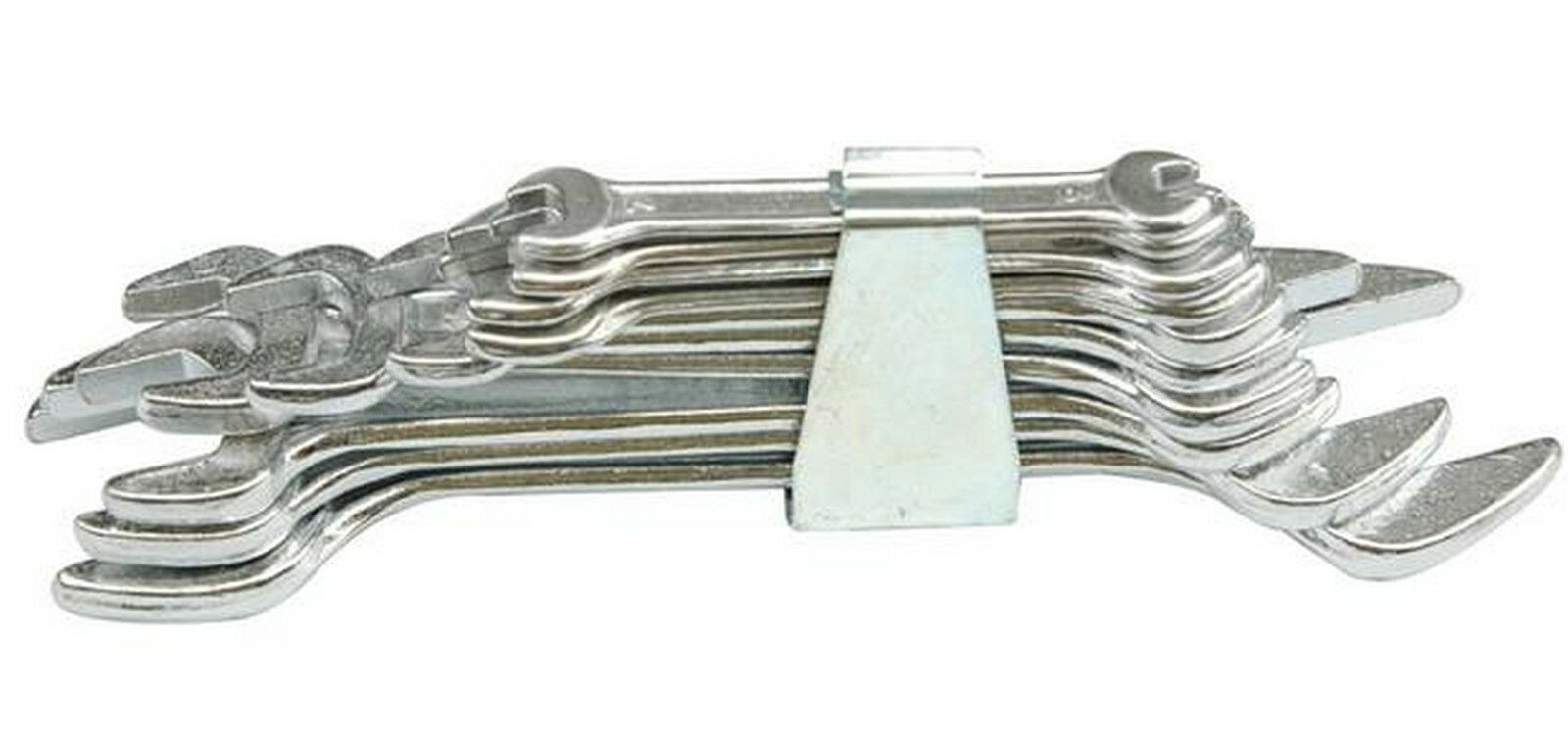 Sada klíčů plochých 12 ks 6 - 32 mm spona TOYA