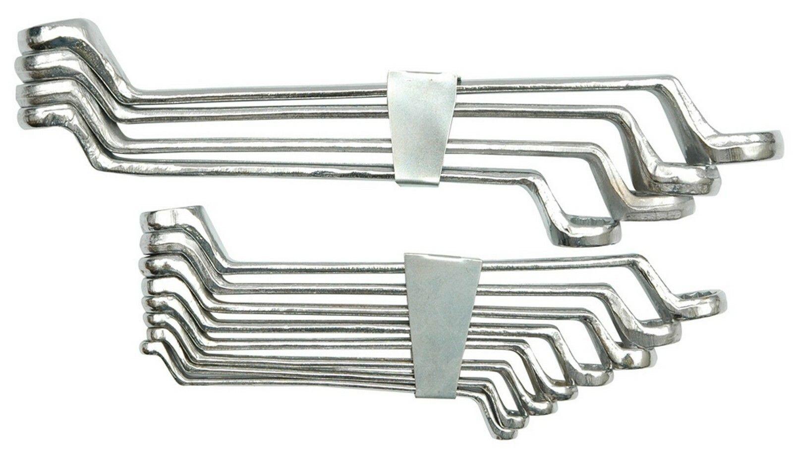 Sada klíčů očkových 12 ks 6 - 32 mm ohnuté spona TOYA