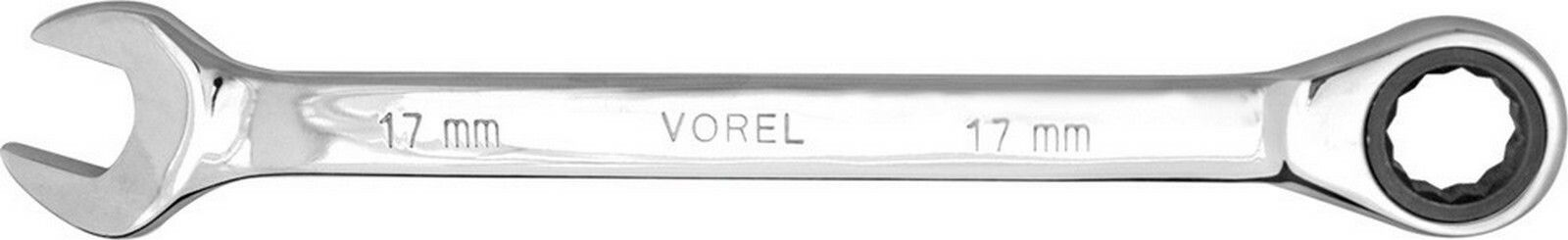 Klíč očkoplochý ráčnový 17 mm CrV TOYA