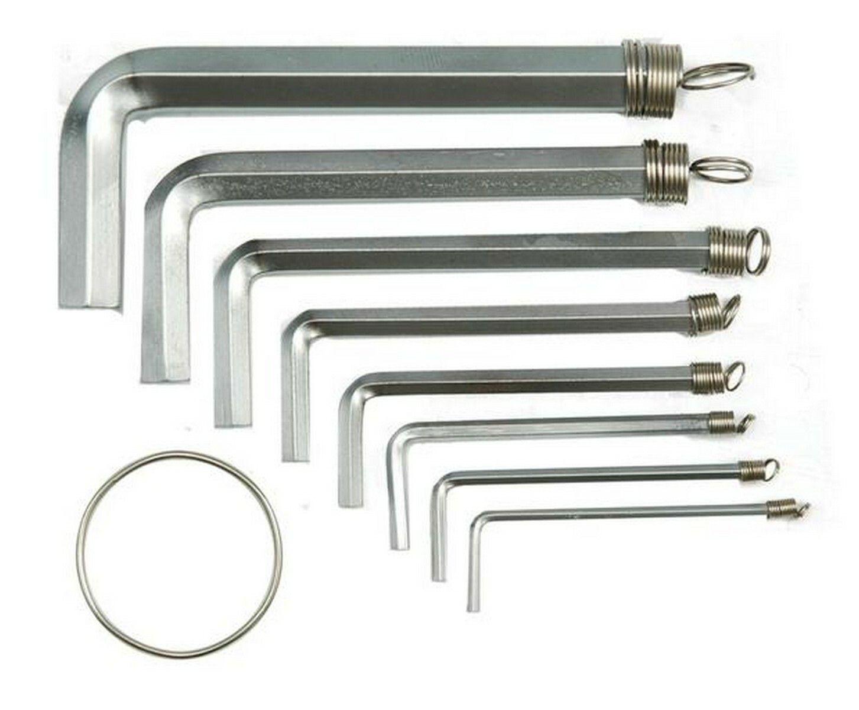 Sada klíčů imbus 10 ks 1,5 - 10 mm CrV TOYA