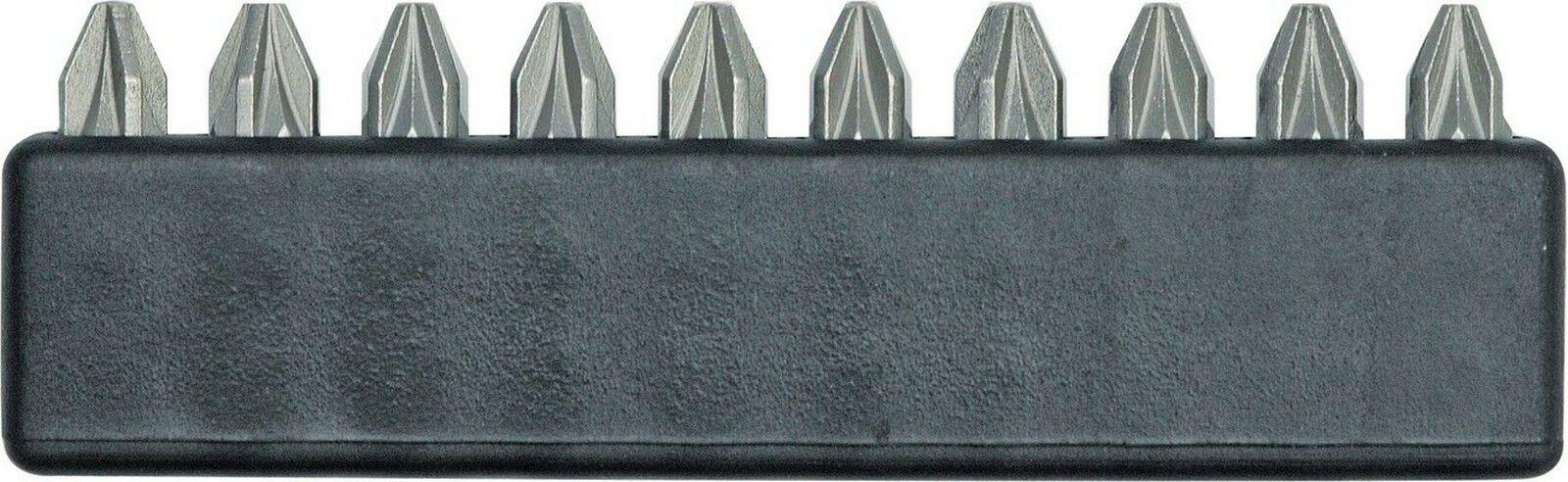 Sada bitů PZ2 x 25 mm 10 ks TOYA