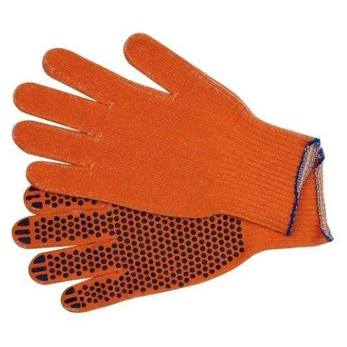 Rukavice pracovní bavlněné PVC tečky balení (5párů) TOYA