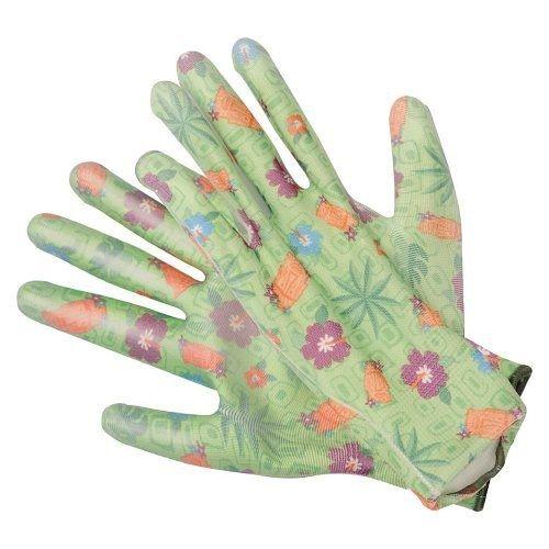 """Pracovní rukavice zelené 9"""" TOYA"""