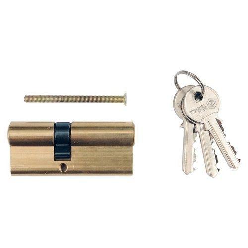 Vložka zámku 87 x 36 x 51 mm mosaz 3 klíče TOYA