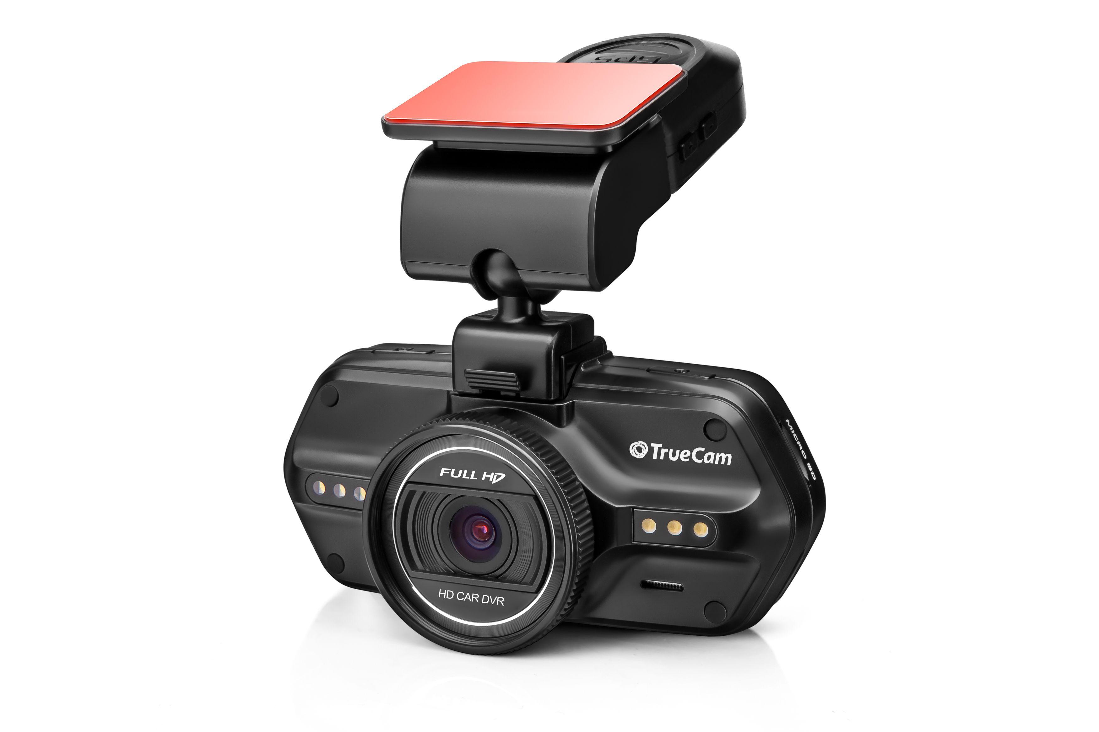 Palubní kamera TrueCam A5s GPS, CZ menu