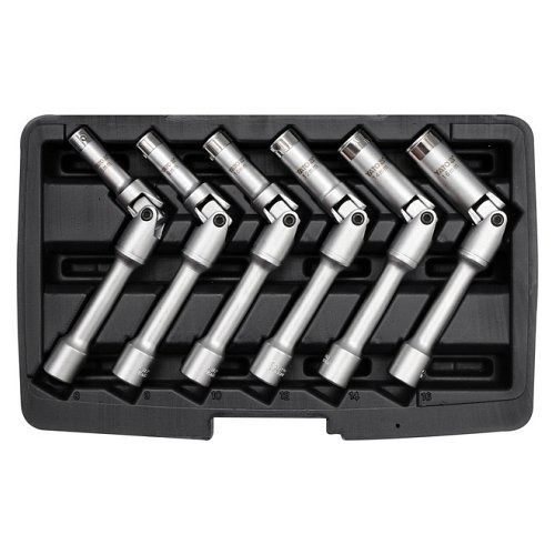 Klíč na svíčky sada, 6ks, 8-16mm, YATO