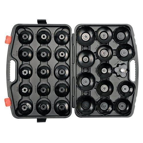 Sada klíčů miskových na olejové filtry, 30 ks, YATO