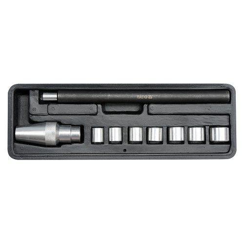 Sada univerzální pro nastavení spojky, 9ks, 11-25mm, YATO-06311