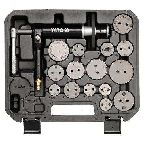 Souprava pneumatická na montáž kotoučových brzd, 16 ks YATO