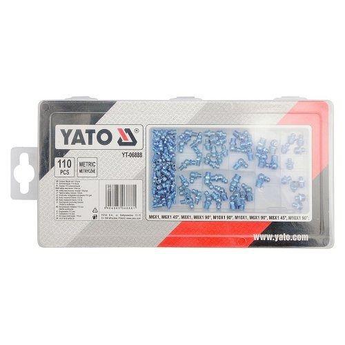 Mazací hlavice, sada 110ks, YATO-06888