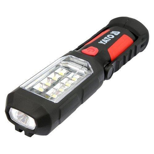Lampa montážní 8+1 LED, hák+magnet, YATO-08513
