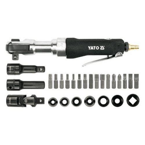 """Utahovák vzduchový s příslušenstvím, 1/2"""", 68 Nm YATO"""