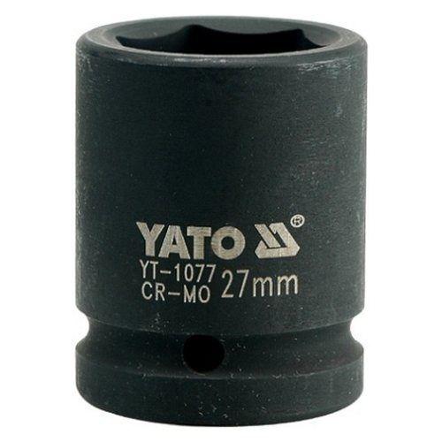 "Nástavec 3/4"" rázový šestihranný, 27 mm, CrMo, YATO"