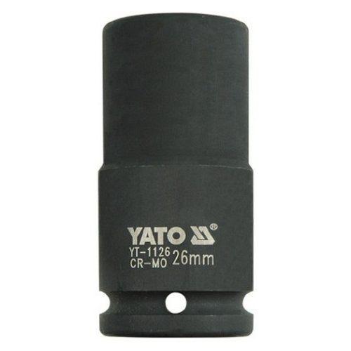 """Nástavec 3/4"""" rázový šestihranný hluboký, 26 mm, CrMo, YATO"""
