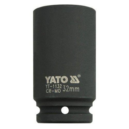 """Nástavec 3/4"""" rázový šestihranný hluboký, 32 mm, CrMo, YATO"""