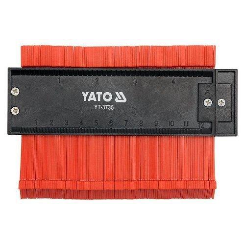 Šablona na profily, 125 mm, magnetická, YATO