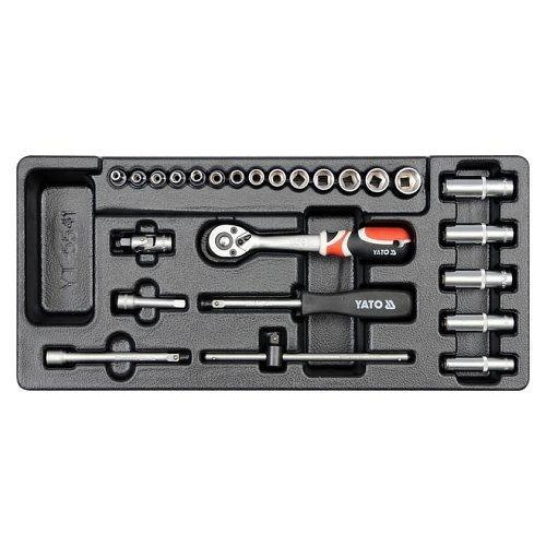 Vložka do zásuvky - klíče nástrčné 25ks 3,5-14mm YATO