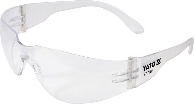 Ochranné brýle čiré typ 90960 YATO